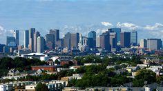 Boston Skyline...... Boston is soooo beautiful
