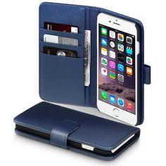 Köp Terrapin Läderplånbok Apple iPhone 6/6S Plus blå online: http://www.phonelife.se/terrapin-laderplanbok-apple-iphone-6-plus-bla