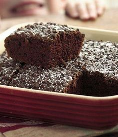 Double-Chocolate Snack Cake Recipe from Eat Better America Double Chocolate Cake, Chocolate Snacks, Chocolate Delight, Chocolate Chips, Vegan Chocolate, Decadent Chocolate, Chocolate Frosting, Delicious Chocolate, Chocolate Recipes