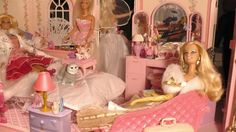 Bedroom of the Barbie Magical Mansion by Mattel, 1990