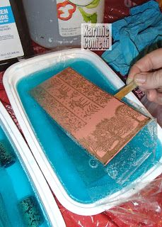 Karmic Confetti: F-etching Copper - Metal working