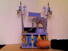 The folks over at cool4cats have outdone themselves with their new paper automaton kit titled ELEPHANT TRAINING .  This one is a large e...
