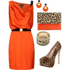 """orange and leopard"""