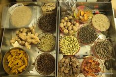 Introduction to spices provided during cooking classes and certain food tours