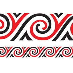 Maui is one of the most celebrated and recognised figures featuring in legends from island groups that span the Pacific Ocean. This border depicts Maui's magic fishhook which he used to pull New Zealand out of the ocean Maori Designs, Tribal Tattoo Designs, Tribal Tattoos, Maori Patterns, Nz Art, Maori Art, Easter Island, School Resources, Borneo