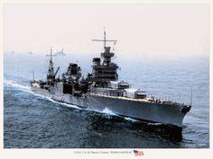 US Navy  ~アメリカ合衆国海軍 : MONOCHROME SPECTER Fleet Week, Heavy Cruiser, United States Navy, Us Navy, Sailing Ships, Wwii, Monochrome, Aircraft, Boat