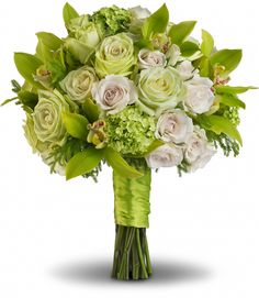 Luscious Love: <span>White lilies and Roses combined.</span>