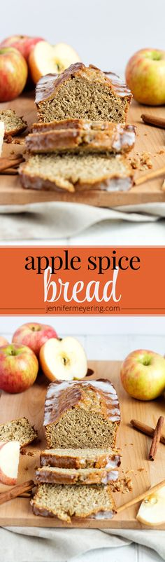 Apple Spice Bread - JenniferMeyering.com