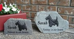 Sarah the Scotty is remembered twice