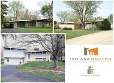 I'm tellin' ya, Indy was ridin' the MCM train back in the day!  They have an entire subdivision of these homes- major eye candy for the enthusiast!