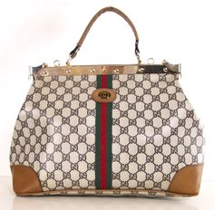 Jackie O and Audrey had one, now you can too. Get this vintage Gucci satchel @Michelle Coleman-HERS, and don't pay retail.