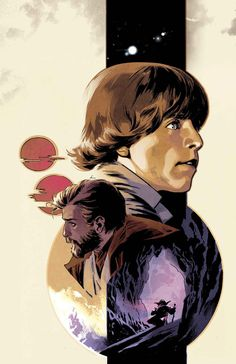 Luke SKYWALKER, Obi-Wan KENOBI and MASTER YODA | By Stuart IMMONEN (MARVEL Comics) | STAR WARS : Characters