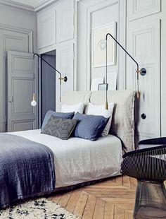 Modern french apartment decor