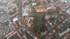 Osnabrücker Stadtschloss von oben