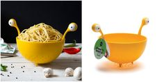 Perfect headwear for your next driver's license photo, this is the Flying Spaghetti Monster Colander designed by Lior Rokah Kor. The colander is available through Ototo for only $18. The Flying Spaghetti Monster Colander is on preorder and will be available with a September 6, 2017 release. Since it's plastic, I'm going to assume that it might not be dishwasher safe.    Some examples of Pastafarians wearing colanders in their driver's license photos:       via Geekologie