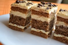 Romanian Desserts, Torte Recepti, Cake Recipes, Dessert Recipes, Bulgarian Recipes, Eat Pray Love, Food Cakes, Biscuits, Sweet Treats