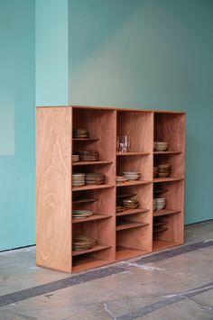 Built In Furniture, Plywood Furniture, Bathroom Furniture, Cool Furniture, Modern Furniture, Furniture Design, Cafe Interior, Apartment Interior, Interior Walls