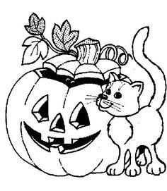 Kleurplaten Halloween Pompoen Vleermuis.Kleurplaten Halloween Pompoen Vleermuis Nvnpr