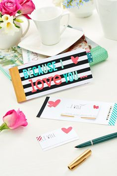 Send love cheques this Valentine's Day / Crafts Beautiful, February 2015