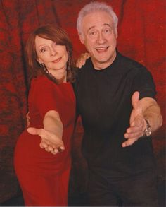 Fun fact: Brent Spiner is the godfather of Gates McFadden's son.