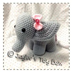 Ravelry: Peanut The Elephant by Jaylee's Toy Box