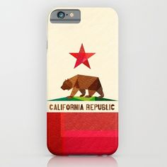 iPhone 6 Cases featuring California by Fimbis