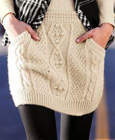 Knitting Patterns Skirt Way to Wear grey zip up sweater skirt- leggings tights vest long sleeve shirt boots Skirt Leggings, Sweater Skirt, Zip Up Sweater, Knit Skirt, Tight Leggings, Knit Dress, Crochet Skirts, Crochet Clothes, Knit Crochet