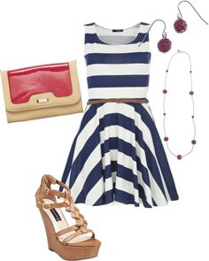 Love this outfit for a summer date night... or any night! #GraceAdele
