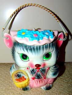 Vintage cookie jar.