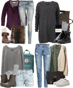 Ginny Weasley Inspired Cornwall Trip Outfits by hpstyle featuring white shoes