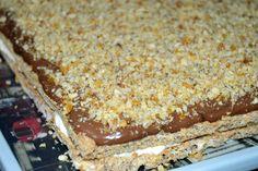 Orechový zákusok s mascarpone citrónovým krémom - Mňamky-Recepty. Banana Bread, Pie, Desserts, Recipes, Food, Basket, Mascarpone, Kuchen, Torte