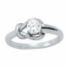 .50CT Everlong Diamond Solitaire Ring 14K White Gold Pompeii3 Inc.. $589.00