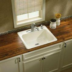 Kohler K 5964 4 Mayfield 4 Hole Single Basin Cast Iron Kitchen Sink | Cast  Iron Kitchen Sinks, Kitchen Sink Price And Cast Iron