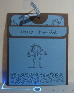 Hanukkah Pocket Card (s_anthony)