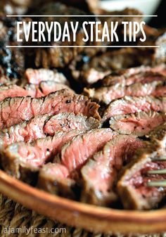Everyday steak tips for the amateurs to the summer grilling masters!