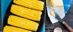 Don't grill corn - slather it with flavored butter, wrap it in foil, and roast in the oven at 375 for 20-25 minutes