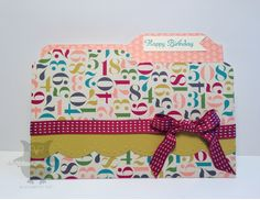 Dani's Thoughtful Corner: Envelope Punch Board
