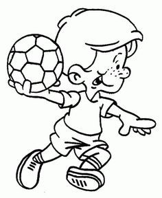 Sports Coloring Pages For Your Sports Loving Kids