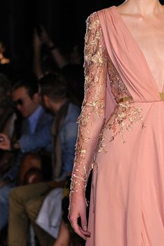 Like something the Princess Bride would wear. Details of Elie Saab Valli Fall 2012 Couture Collection