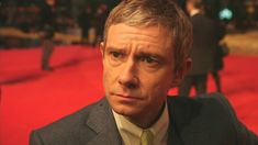 Martin Freeman at Hobbit premiere. This entire interview is a perfect example of why I have developed a respect and adoration for this man.