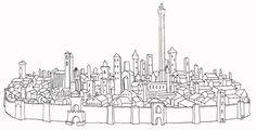 Image result for i torri di bologna