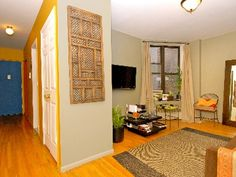 A bit pricey, but two bedrooms and a full kitchen - looks super clean and bright!