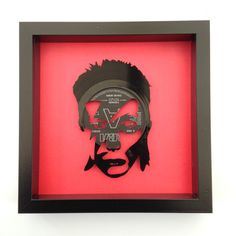 David Bowie Ziggy Stardust Fashion Vinyl Record Art