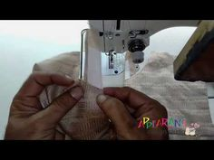 Chinese Collar Neck Designs with loop Cutting and Stitching - YouTube