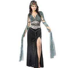 Damen Sexy Medusa Kostüm Griechische Römische Göttin / Cleopatra / Arwen