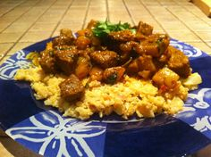 Beef Curry on Cauliflower Rice | fastPaleo Primal and Paleo Diet Recipes