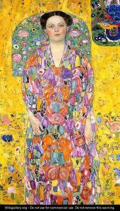 Portrait of Eugenia (Mada) Primavesi - Gustav Klimt