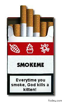 Cigarette Packet Image Generator