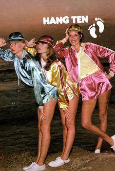 Hang Ten ad from 1979. I LOVED these satin jackets as a young teen! :-)