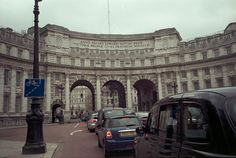 Admiralty Arch in Borough of Westminster, London